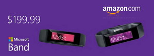Get a Microsoft Band from Amazon