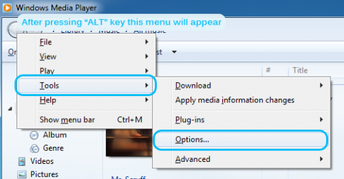 how to play bup files in windows media player