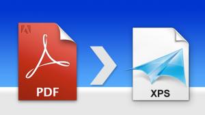 Convert PDF to XPS