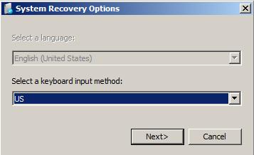 Select a keyboard input method