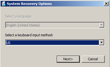 Select a keyboard input method