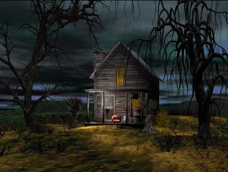 com wallpapers halloween house windows - photo #40