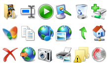 Windows 7 Icon library