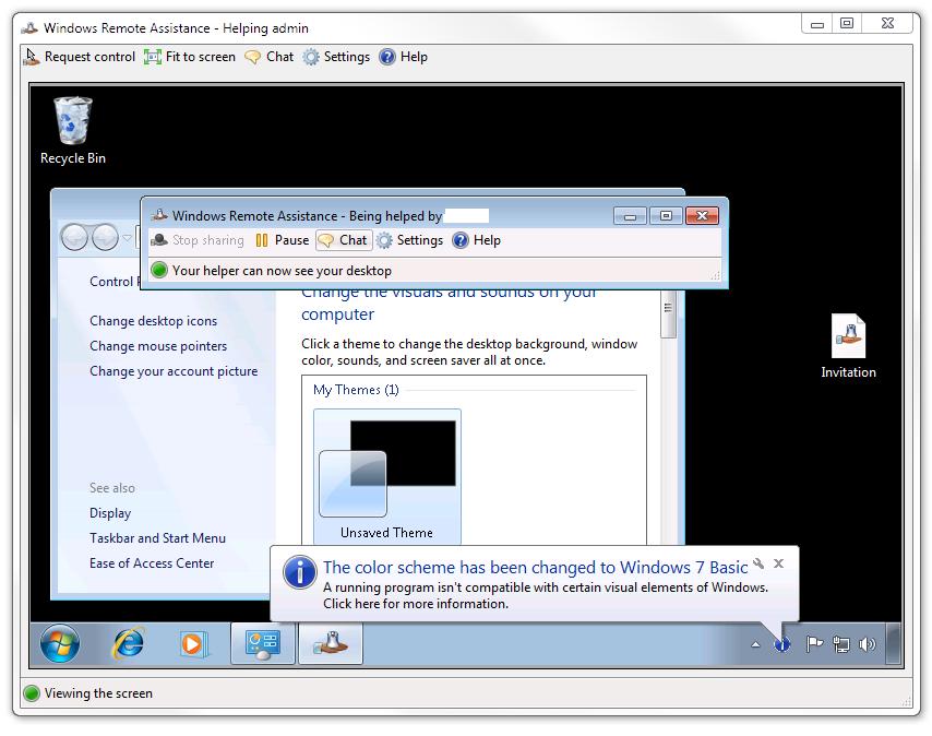 Windows 7 Remote Control
