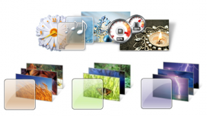 Windows 7 Personalization - Themes & Wallpapers
