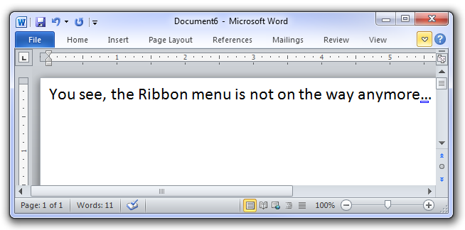 office 2010 ribbon. Microsoft Office 2007 and 2010