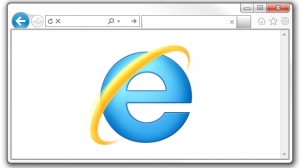 Internet Explorer 9 - Logo + Browser