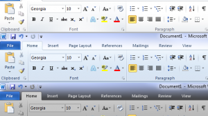 Microsoft Office 2010 Color Scheme