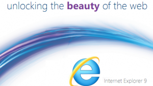 Internet Explorer 9 - IE9 and Beauty
