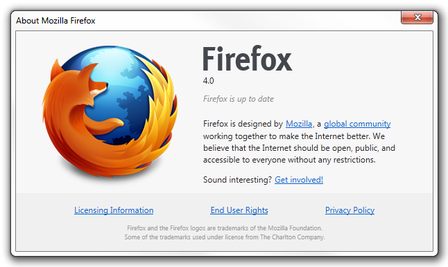 Firefox 4 RC1 has been released, download and update it ...