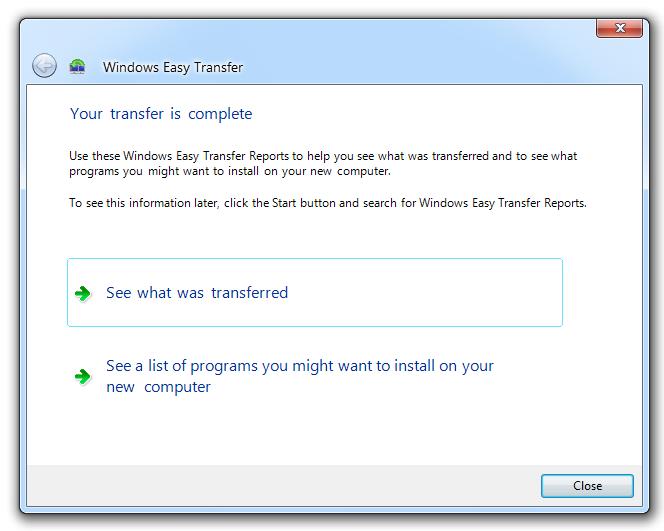 Image Result For Windows Easy Transfer Windows