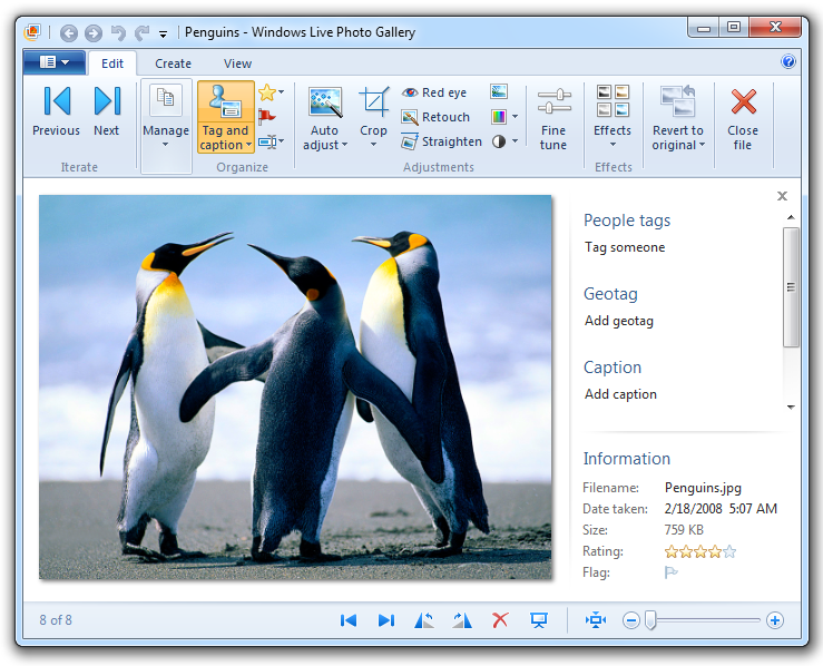 Learn how to use Windows Live Photo Gallery 2011 [Part 2 ...: pureinfotech.com/2011/05/26/learn-how-to-use-windows-live-photo...
