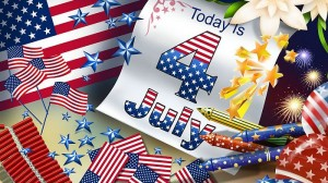 July 4th - Independence Day of United States of America