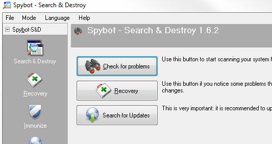 Spybot - Search & Destroy - Review