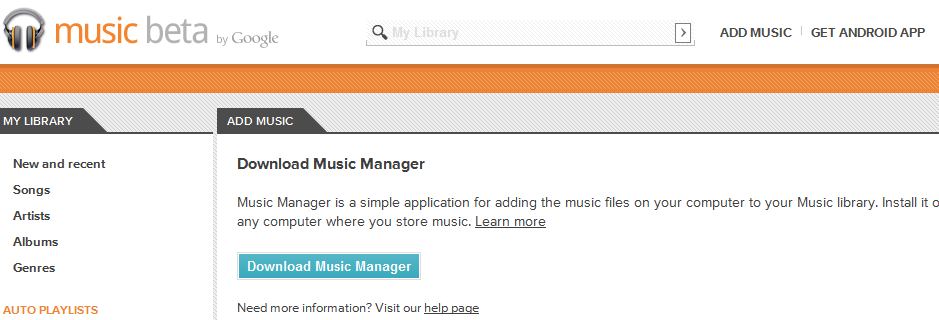 Music Beta - Download Music Manager