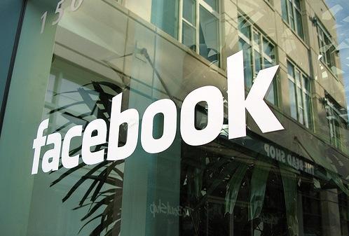 Facebook headquarters logo
