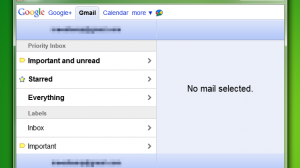 iPad version of Gmail in Google Chrome