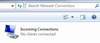 Windows 7 - Incoming connections