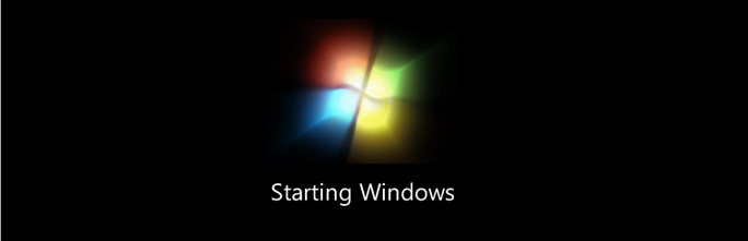 how to fix the windows 7 startup animation