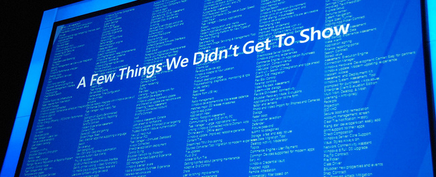 The 300+ features in Windows 8 - The list