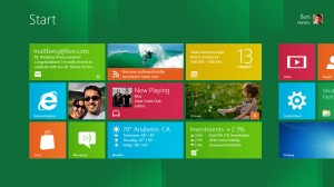 Windows 8 - Start Screen