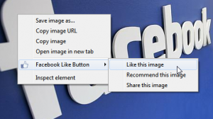 Facebook Like Button - Chrome Extension