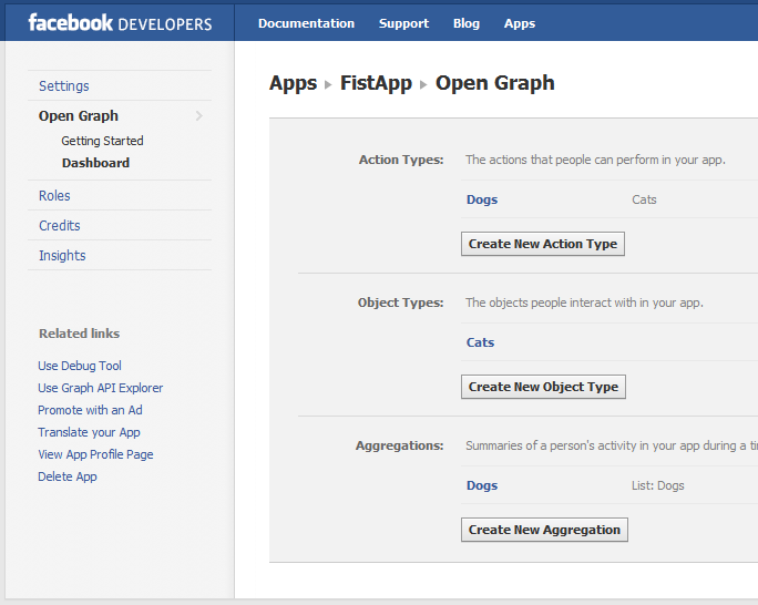 Facebook Timeline - Open Graph finish