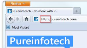 Firefox 7 - Get full URL back