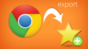Google Chrome - Export Bookmarks
