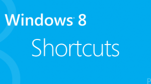 Keyboard shortcuts - Windows 8