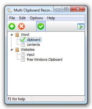 Multi Clipboard Recorder