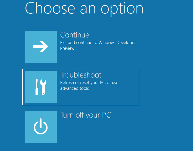 how to get into boot menu windows 8 during startup