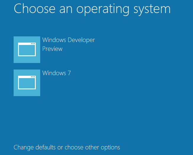 How to dual boot windows 7 and windows 8 step by step for How to choose windows