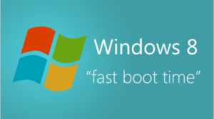 Windows 8 - Really fast boot time