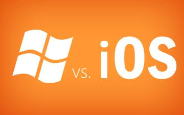 Windows 8 vs. iPad iOS 5