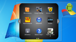 BlueStacts runs Android apps on Windows 7