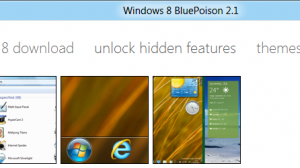 Windows 8 BluePoison