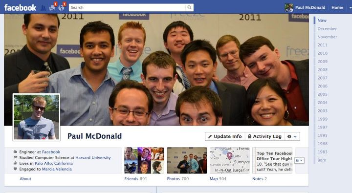 Facebook Timeline - Available today