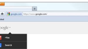 New Google Bar Firefox