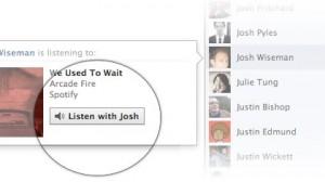 Listen With Facebook
