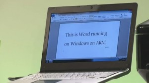 Windows 8 on ARM - App