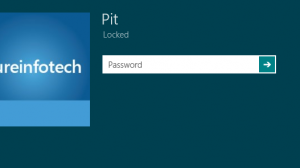 Disable Lock Screen Windows 8