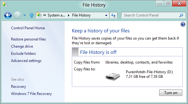 how to turn off write setting on external harddrive