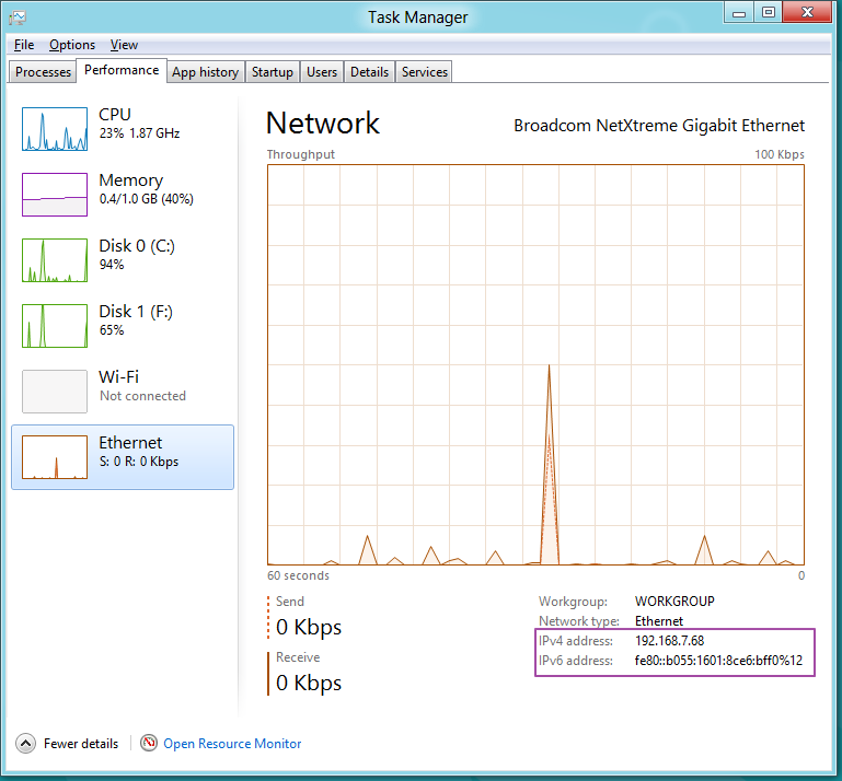 At view windows network manager standalone sw forum