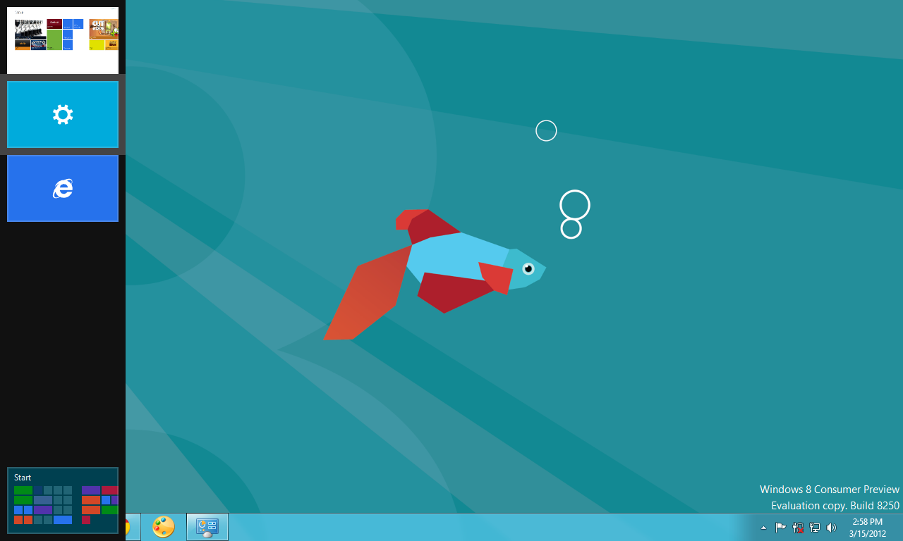 Task Switcher - Windows 8