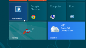 Open Windows 8 pinned website tiles on desktop IE