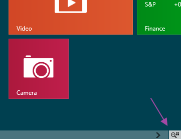 Zoom Start Menu Windows 8