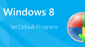 Set Default Programs Windows 8