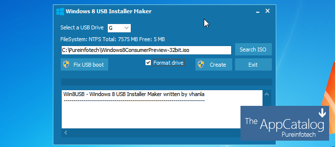 Win8USB Windows 8 USB Installer