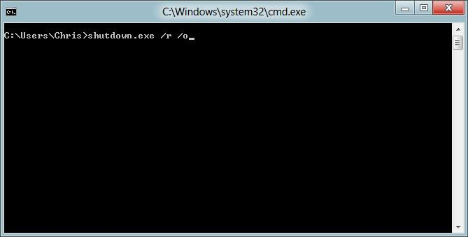 Shutting down Command Prompt
